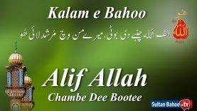 Kalam e Bahoo –Alif Allah Chambe Dee Bootee