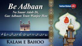 Kalam e Bahoo  |  Be Adbaan Na Saaar Adab Di, Gae Adbaan Toun Wanjee Hoo | 27