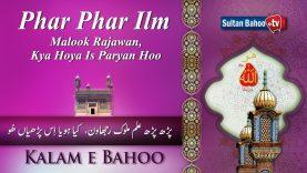 Kalam e Bahoo | Phar Phar ilm Malook Rajawan, Kya Hoya Is Paryan Hoo | 33