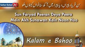 Kalam e Bahoo – Sun Faryad Peeran Deya Peera Main Akh Sunawan Kain Noon Hoo