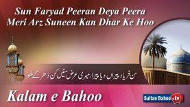 Kalam e Bahoo – Sun Faryad Peeran Deya Peera Meri Arz Suneen Kan Dhar Ke