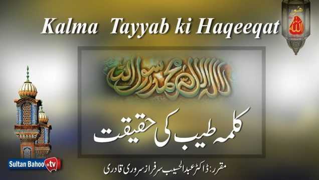 Speech: Kalma Tayyab ki Haqeeqat