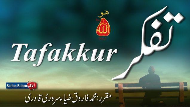 Speech: Tafakkur