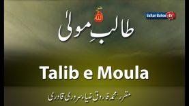 Speech: Talib e Moula