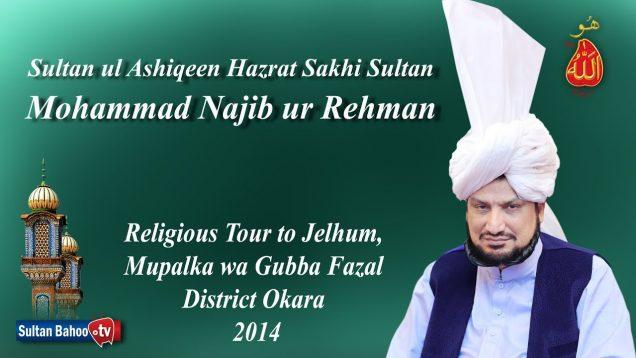 Sultan ul Ashiqeen Ka Tableeghi Dorah Mupalka wa Gubba Fazal District Okara 2014