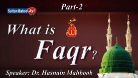 Speech: What is Faqr Part 2